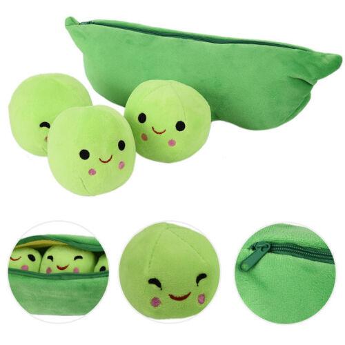 "Pea Plush Toy 3 Peas in Pod 9/"" Stuffed Animal Legume Disney Story Soft Cute Doll"