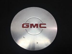 "Factory OEM GMC Wheel Center Hub Cap Brushed Aluminum 7-13//16/"" 15040220 #BX13"