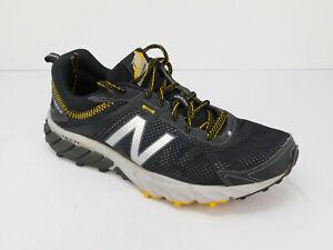 Men-s-New-Balance-610v5-Trail-Running-Shoe-sz-8-Black-Yellow