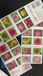 10 sheets 2021 Garden Beauty Forever Booklet Pane of 20 MNH(200 usps stamps)