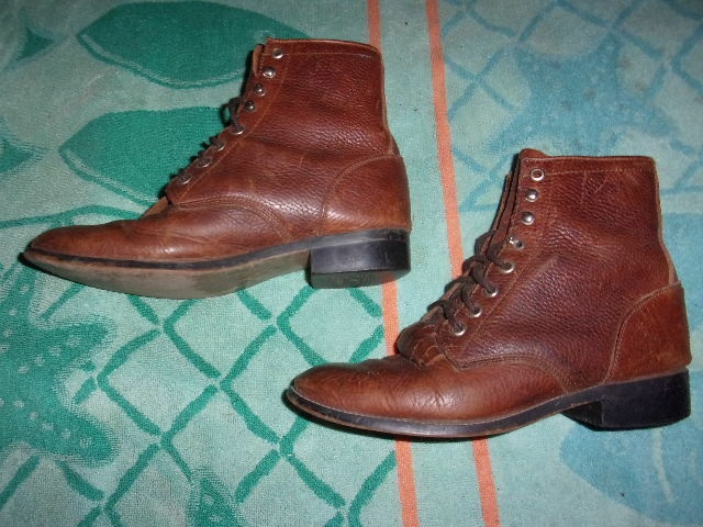 Justin Boots BROWN BOOTS WOMENS SIZE 4 1 2 D
