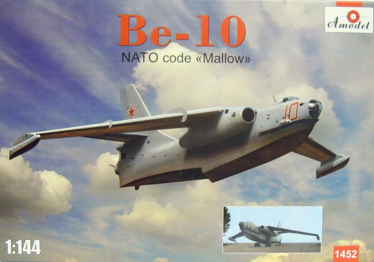 Beriev Be-10 Mallow, Amodel, Plastic, 1 144, New