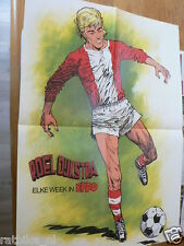 EPPO 1977-48 POSTER ROEL DIJKSTRA VOETBAL,SOCCER,BRITAINS TRACTOR FORD,FERGUSON