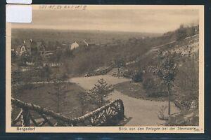 35014) Ak Hambourg Bergedorf... De L'observatoire 1930 + Bahnpost Berlin-hbg-afficher Le Titre D'origine