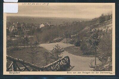 Besorgt 35014) Ak Hamburg Bergedorf ...von Der Sternwarte 1930 + Bahnpost Berlin - Hbg