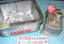 FIAT 500 F/L/R 126 COPPA OLIO MOTORE ABARTH 3,5KG + COPERCHIO PUNTERIE + TAPPO