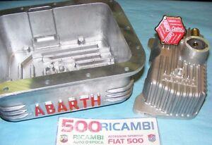 FIAT-500-F-L-R-126-COPPA-OLIO-MOTORE-ABARTH-3-5KG-COPERCHIO-PUNTERIE-TAPPO