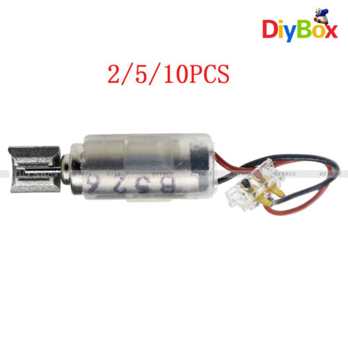 2Pcs 6x15mm DC1.5-3V Micro Coreless Vibrating Vibrator Vibration Motor For SANYO