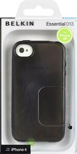 Belkin-Essential-013-Grip-Vue-pour-iPhone-4-4S-TPU-noir
