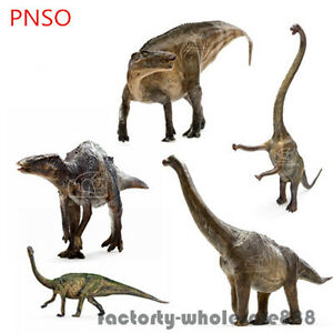 image is loading pnso rare dinosaur model scientific art hadrosaurus figure