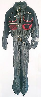 DESCENTE Ski Suit - One Piece - Snowboard Sledding - Vintage 1990s - LARGE
