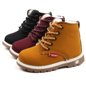 Children-Warm-Boys-Girls-Toddler-Kid-Martin-Sneaker-Boots-Kids-Baby-Casual-Shoes