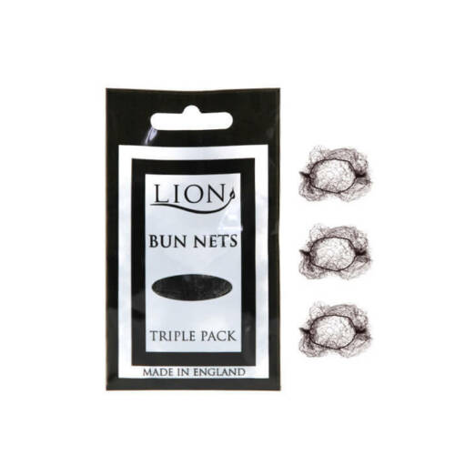 Ballet,Dance,Gym,Horseriding SAMEDAY Lion Bun Nets BLACK x600 200 Triple Packs