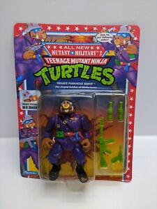 Vintage-TMNT-Private-Porknose-Bebop-1992-Mutant-Military-2-See-Pictures-New