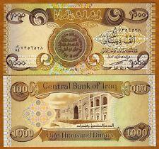 SCARCE UNC *//* 1 IRAQ 500 DINARS 2003 2004 P-92 FIRST PREFIX NO ONE