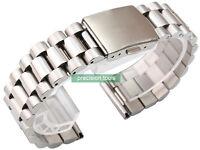 22mm Straight End Solid Stainless Steel President Bracelet For SKX007 6309-7040