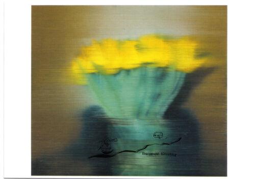 Gerhard Richter Postkarte Tulpen