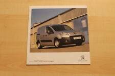 74669) Peugeot Partner Kastenwagen Prospekt 07/2011