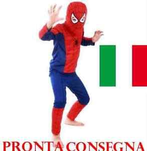 COSTUME-DA-SPIDERMAN-UOMO-RAGNO-FILM-FAMOSI-CARTONI-ANIMATI-SUPER-MAN-COSPLAY