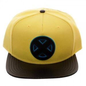 Marvel-X-MEN-CARBON-FIBER-Snapback-Hat-Cap-NEW-TAGS-472732