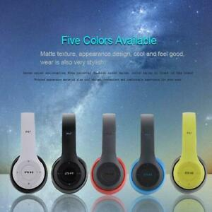 Kabellose-Kopfhoerer-Stereo-Bluetooth-Headset-Noise-Cancelling-Over-Ear-Mit-Mic
