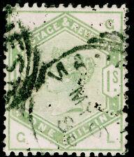 Sg196, 1s dull green, good used. Cat £300. GL