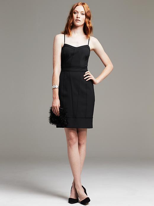 NEW Banana Republic Sexy damen Strappy Stretch Corset Dress schwarz 0 P XXS