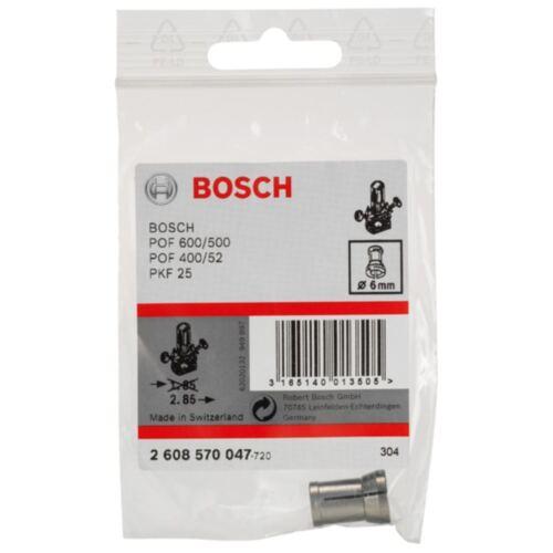 6 mm Bosch Pince de serrage sans Serrage mère pour Bosch-ouvrée