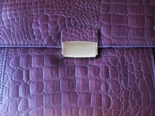 For Hand £62 Clarks Burgundy Clutch New Bag Leather Rrp A Woman Gift Genuine 1EnxfOvw