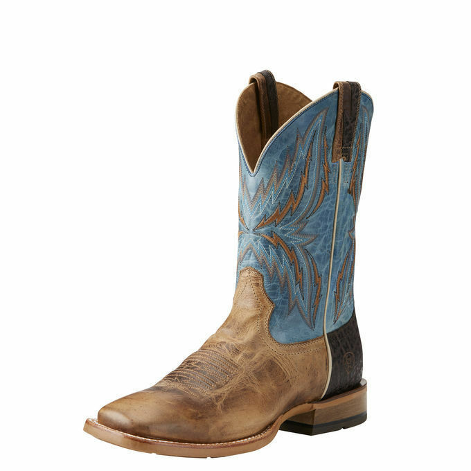 Ariat 10021679 Arena Rebound 11  Heritage bluee Square Toe Two Tone Cowboy Boots
