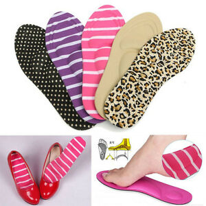 Mujer-Plantilla-De-Zapato-Esponja-Cojin-Tacones-altos-Almohadillas-Pies-Cuidado
