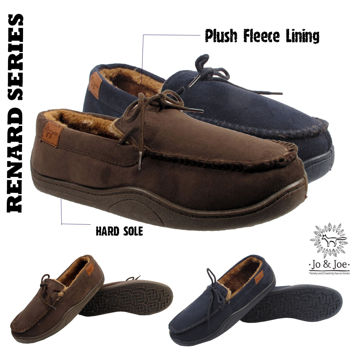 MENS MOCCASINS SLIPPERS LOAFERS FUR LINED WINTER WARM 9 SHOES SIZE 7 8 9 WARM 10 11 12 074155