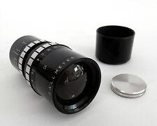 Superb Dallmeyer 4 Inch F4 Dallcoated C Mount TV Lens :FREE UK SHIPPING