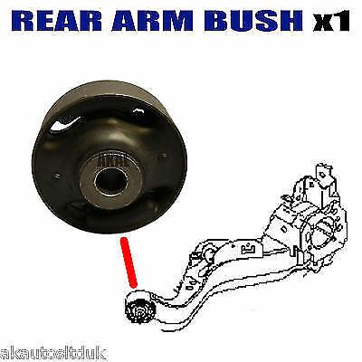 FOR NISSAN XTRAIL T31 2007/> REAR SUSPENSION TRAILING CONTROL ARM AXLE BUSH 1PCE