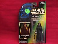 Hasbro Star Wars Action Figure Power of the Force - Emperor Palpatine with walking stick Toys