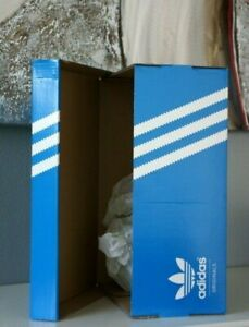 Details about adidas ORIGINAL Empty Blue Box for Sneakers Athletic Shoes Boots 100% Authentic
