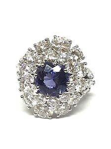 Bague-en-or-blanc-18-carats-diamants-et-Tanzanite-prix-exceptionnel