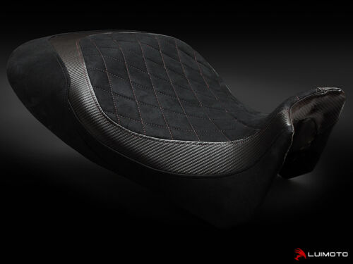 DUCATI DIAVEL 2011-2014 RIDER SEAT COVERS COVER DIAMOND EDITION LUIMOTO