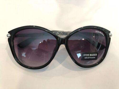 Steve Madden Cat Tube Sunglasses Black