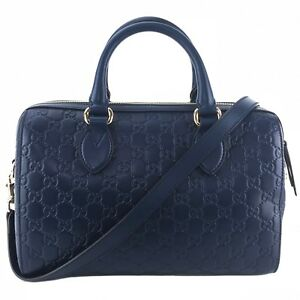 71a8bd65a1c Image is loading GUCCI-453573-GG-Guccissima-Leather-Boston-Bag-with-