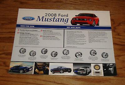 2013 Ford Mustang Shelby GT500 Color Brochure Catalog Prospekt
