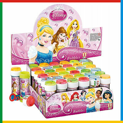 Disney Princess Bubbles Girls Childrens Birthday Party Bag Fillers FREE DELIVERY
