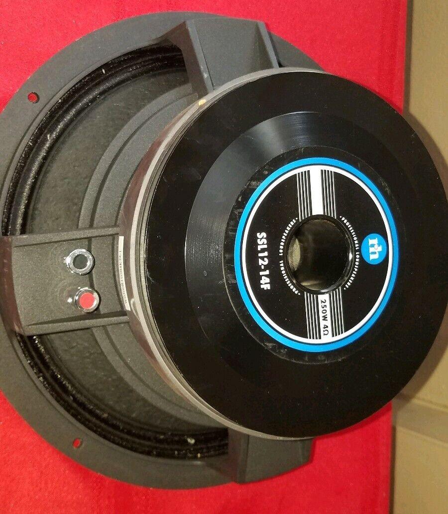 (One) Renkus Heinz SSL12-14F Speaker  Original Clean.