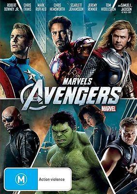 The Avengers Marvel BRAND NEW SEALED R4 DVD