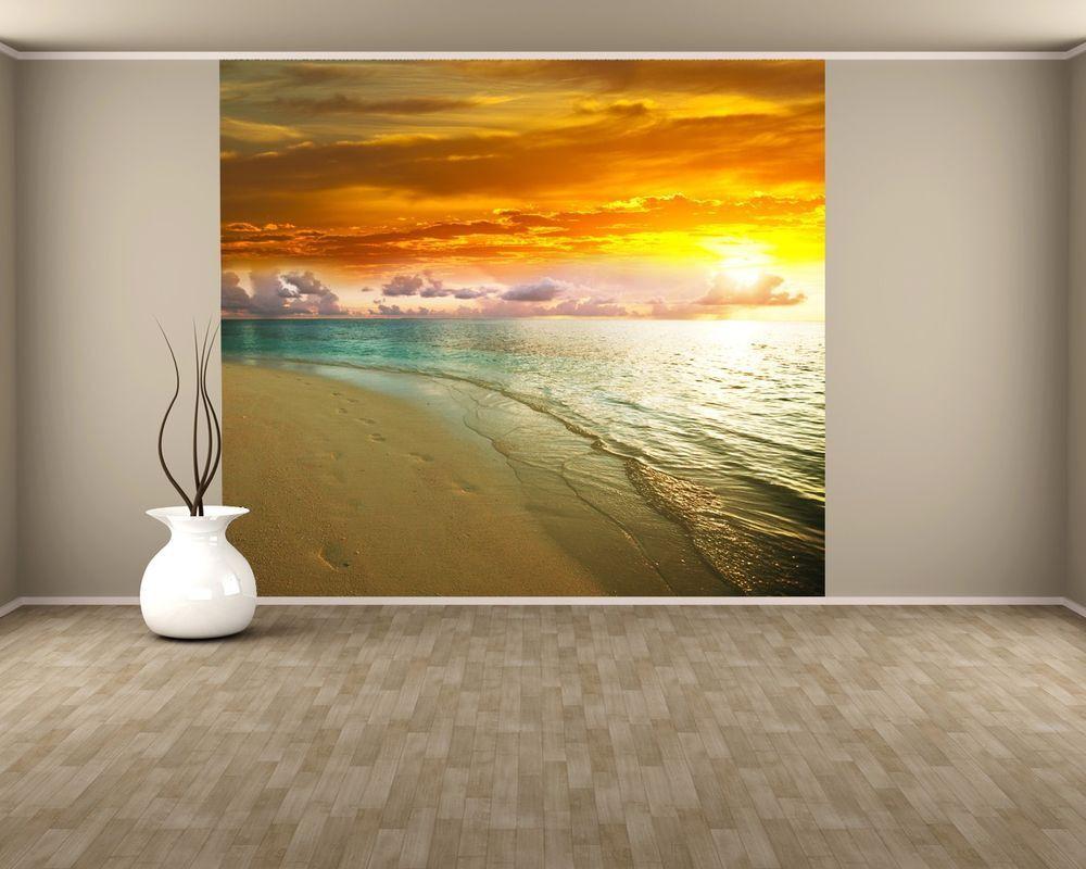 Fototapete Sonnenuntergang am Strand II