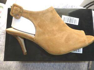 Size Sandals Peep Heel Camel Toe 6 Suede Ladies Conran High Bnib Jasper x1qzfAd