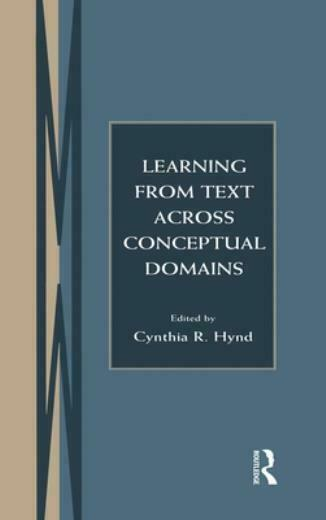 Learning From Text Across Conceptual Domains