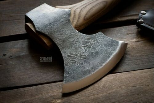 Details about  /hand forged axe for household chores chop wood for the fireplace