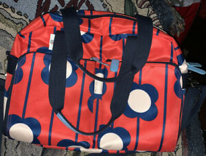 Orla-Kiely-for-Target-Red-Floral-Weekend-Travel-Gym-Diaper-Bag