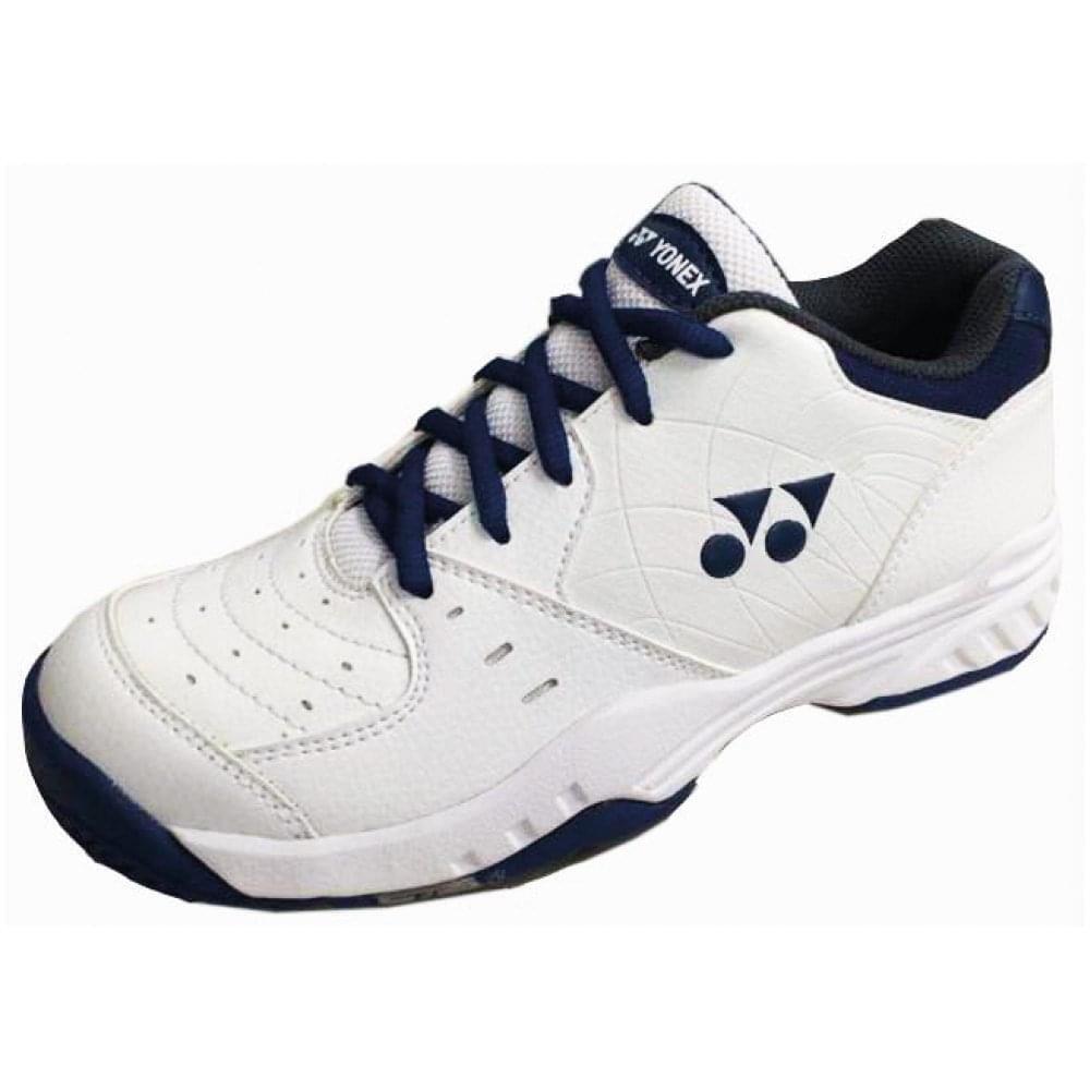 Yonex SHT-ELSJ Power Cushion Eclipsion Junior All-Court Tennis shoes (White)